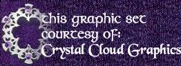 Crystal Cloud Graphics logo