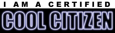 Fortune City's cool Citizen award
