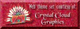 Crystal Cloud Graphics logo, please use on any page you use these graphics on! Thank you.