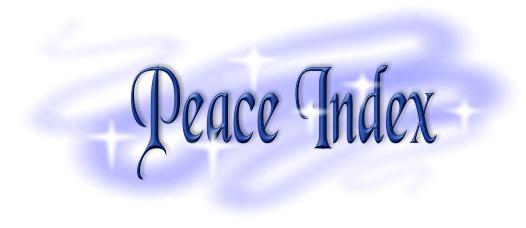 Peace theme graphic