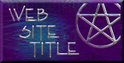 sample pentagram title