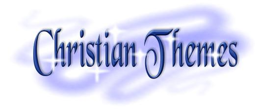 Christian theme graphic