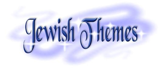gold Jewish Theme graphic